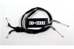 Cable, Black Vinyl, Throttle Set