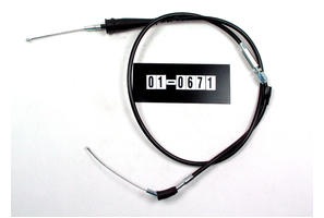 Cable, Black Vinyl, Throttle