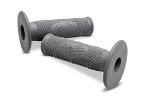 Motion Pro DirtControl Grips, Gray, Half Waffle