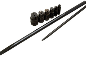 Wheel Bearing Remover 8 Piece Metric Set