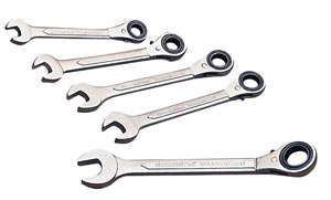 Wrench Set Ratchet Combo 11,13,15,17,19 mm