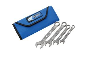 TiProlight Titanium 4 Pc Wrench Set, 8,10,12 & 13mm