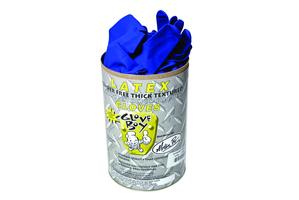 Glove Boy HD Powder Free Latex 14 Mil Ex-Large, Tube 50 Ea