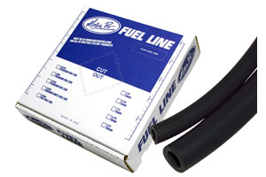 MP Premium Fuel Line, Black 3/16 ID X 25