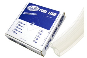 "MP Premium Fuel Line, Clear 1/4"" ID X 25"