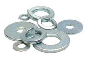 Washer Flat 5mm, 12mm OD, Pk-10