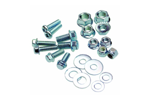 Mini Hardware Kit, Zinc Finish, Single Pack